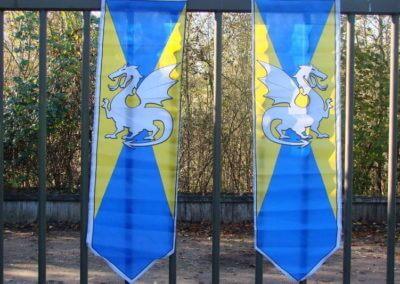 ridder feestvlaggen