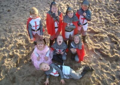 ridderkleding-groep
